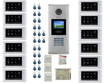 12 APARTMENT INTERCOM SYSTEM