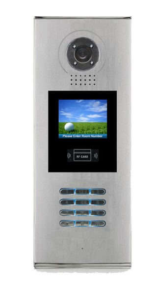 APARTMENT INTERCOM MULTI ENTRY DOOR STATION