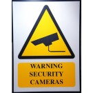 SECURITY WARNING SIGNAGE 60-45