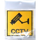 CCTV WARNING STICKER 21 X 14cm